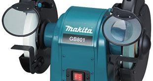 Makita GB801 Doppelschleifbock 205 mm Schwarz Cyan 450 mm 310x165 - Makita GB801 Doppelschleifbock 205 mm, Schwarz, Cyan, 450 mm