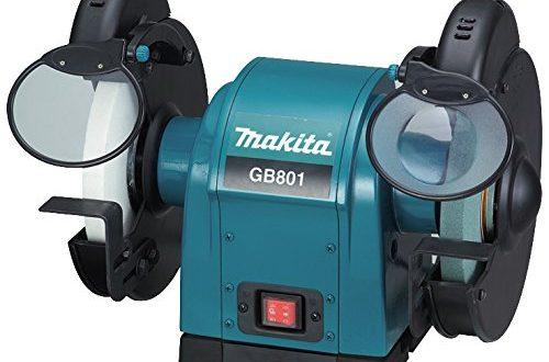 Makita GB801 Doppelschleifbock 205 mm Schwarz Cyan 450 mm 500x330 - Makita GB801 Doppelschleifbock 205 mm, Schwarz, Cyan, 450 mm