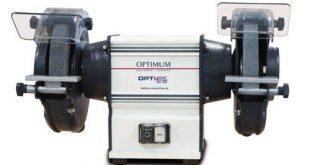 Optimum Doppelschleifmaschine OPTIgrind GU 18 2 Schleifscheiben feingrob Funkenschutz wartungsfreier 310x165 - Optimum Doppelschleifmaschine OPTIgrind GU 18 (2 Schleifscheiben fein+grob, Funkenschutz, wartungsfreier Motor), 3101510
