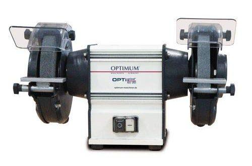 Optimum Doppelschleifmaschine OPTIgrind GU 18 2 Schleifscheiben feingrob Funkenschutz wartungsfreier 500x330 - Optimum Doppelschleifmaschine OPTIgrind GU 18 (2 Schleifscheiben fein+grob, Funkenschutz, wartungsfreier Motor), 3101510